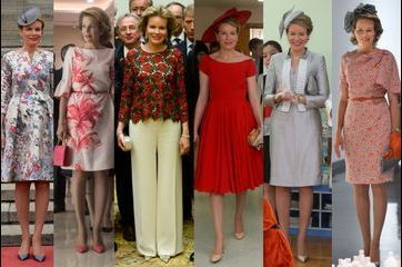 Tous les looks de la reine Mathilde en Chine en 30 photos