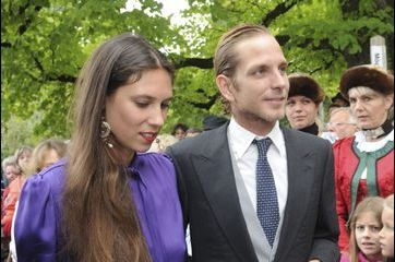 Andrea et Tatiana, stars du mariage von Thurn und Taxis