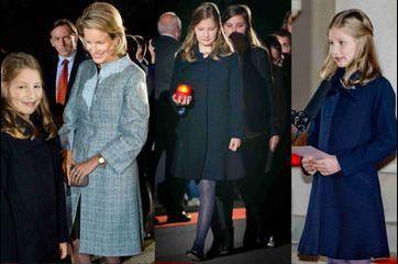 Elisabeth, la petite princesse de Belgique, en première ligne