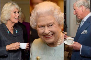 Camilla et Charles: jamais sans mon thé !