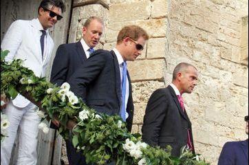 Harry et Pippa, invités d'honneur d'un mariage à l'italienne