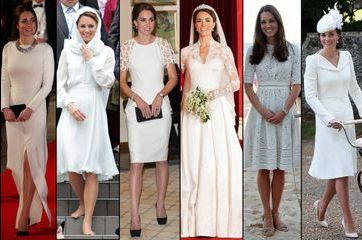 Royal Style – Quand Kate enfile une robe blanche