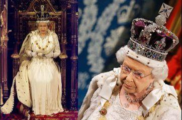 Queen Elizabeth en majesté