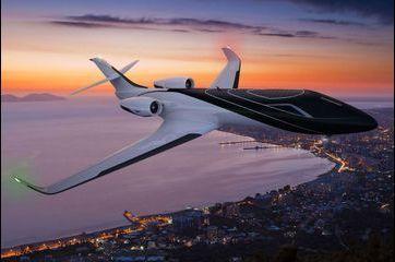 L'Ixion, un avion futuriste sans hublot