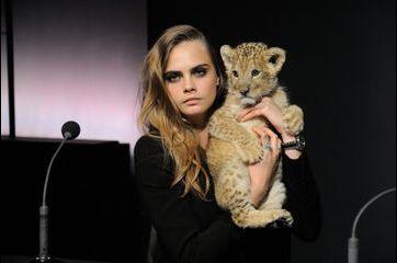 Cara Delevingne, égérie et... maman lion