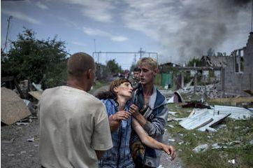 Ukraine, Lougansk: les civils pris pour cible par Valeri Melnikov
