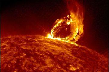 En direct d'une éruption solaire