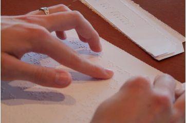 A l'école du braille
