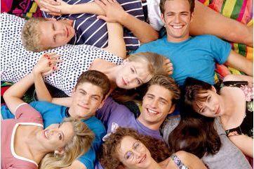 """L'évolution physique des stars de """"Beverly Hills 90210"""""""