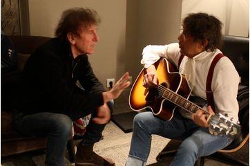 En backstage avec Alain Souchon et Laurent Voulzy