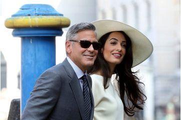 George et Amal Clooney, la classe à l'Italienne