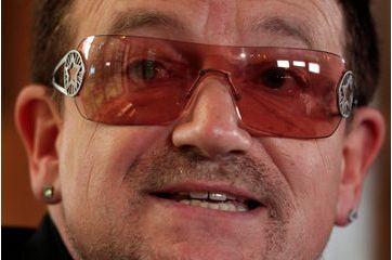 Bono souffre d'un glaucome