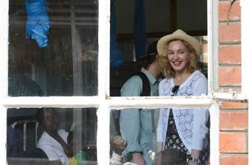 Madonna, pop star en mission au Malawi