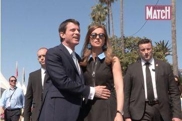 Manuel Valls en amoureux sur la Croisette