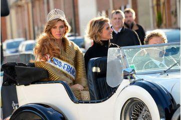 Miss France accueillie comme une reine