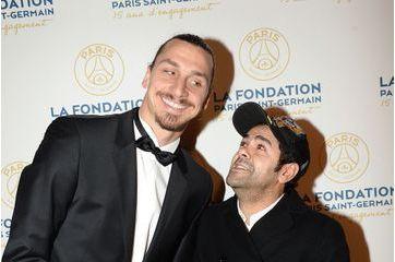 Équipe de stars au gala de la Fondation PSG