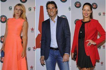 Les stars du tennis font la fête avant Roland Garros