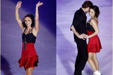 Nathalie Péchalat rechausse les patins