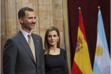 Letizia et Felipe remplacent leur fille au prix des Asturies