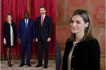 Letizia invite le président sénégalais à sa table