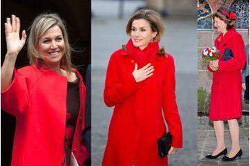 Manteaux, elles voient rouge