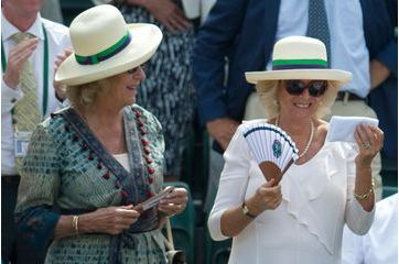 Camilla s'approprie le bandeau de Murray