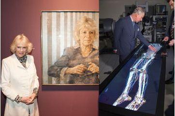 Camilla face à elle-même, Charles face à un squelette