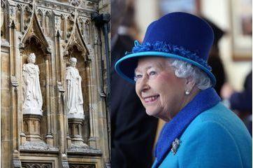 Elizabeth immortalisée dans la pierre