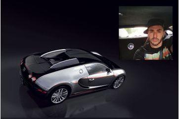 Découvrez la Bugatti Veyron de Karim Benzema