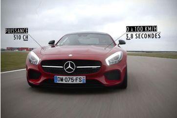 La nouvelle sensation Mercedes en action