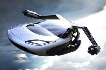 Elle est la voiture volante de demain