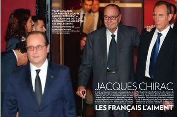 Dans l'œil des étudiants : Jacques Chirac en vedette.