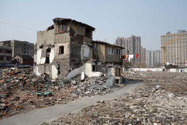 Les murs de Xiaonanmen.