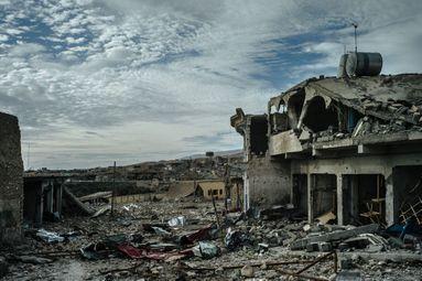 Sinjar, ville meurtrie par L'Etat islamique.