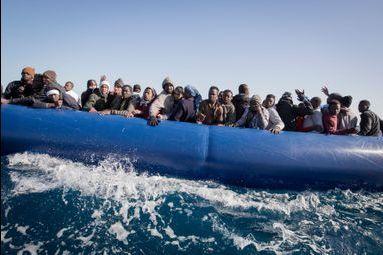 Migrants sauvés en Méditerranée