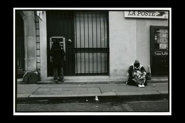 Homeless Paris