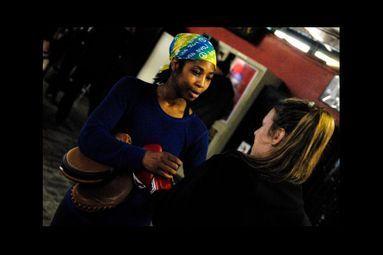 La boxe, au féminin et à l'ancienne