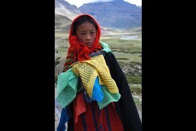 Sur les pas des pèlerins tibétains