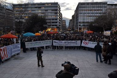 La grèce, une crise sociale