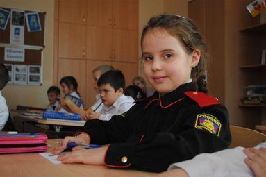 À l'école des Cosaques