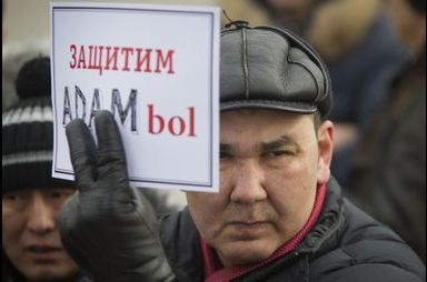 Liberté de la presse au Kazakhstan!