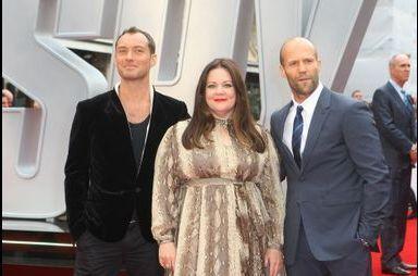 Jude Law et Jason Statham joignent leurs forces à Londres