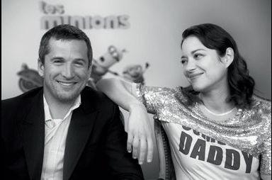 Dans l'objectif de Nikos... Marion Cotillard et Guillaume Canet