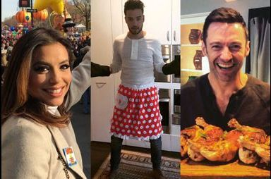 Le Thanksgiving des stars