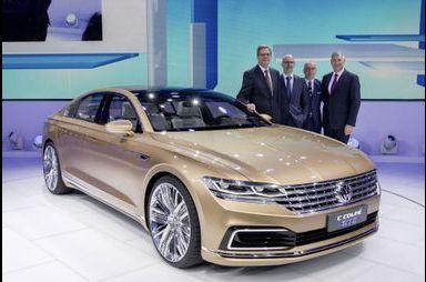 C Coupé GTE, le futur du haut de gamme VW