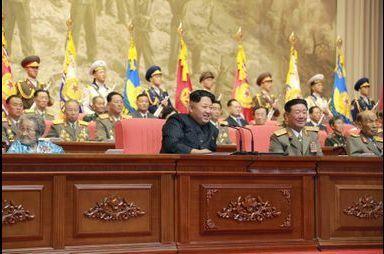 Kim Jong-un célèbre les vétérans de la Guerre de Corée