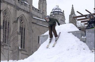 Le Massachusetts transformé en station de ski