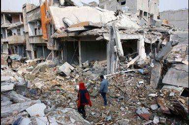 Kobané, une ville détruite