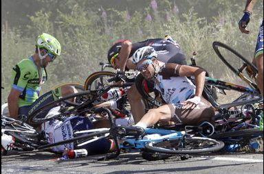 Les stigmates du Tour de France