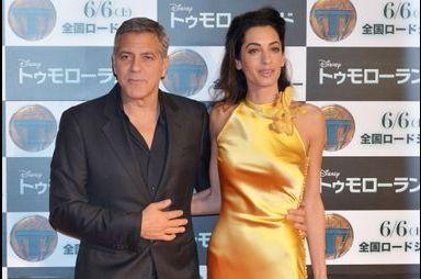 George et Amal Clooney, lumineux duo